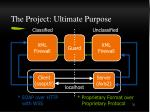 the project ultimate purpose