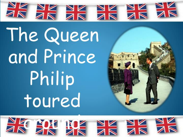 The Queen and Prince Philip toured around China in 1986.