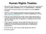 human rights treaties