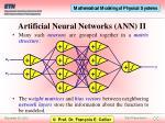 artificial neural networks ann ii