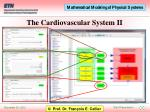 the cardiovascular system ii