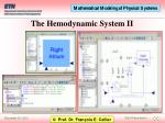 the hemodynamic system ii