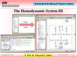 the hemodynamic system iii