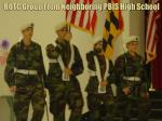 rotc group from neighboring pbis high school