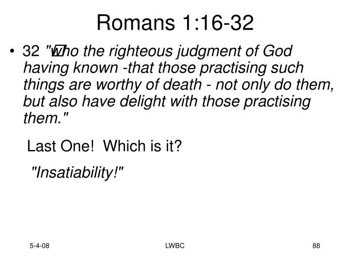 Romans 1:16-32