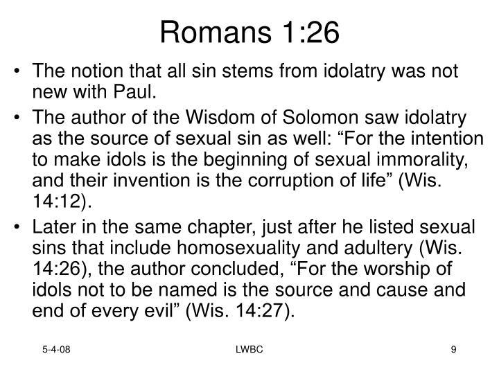 Romans 1:26