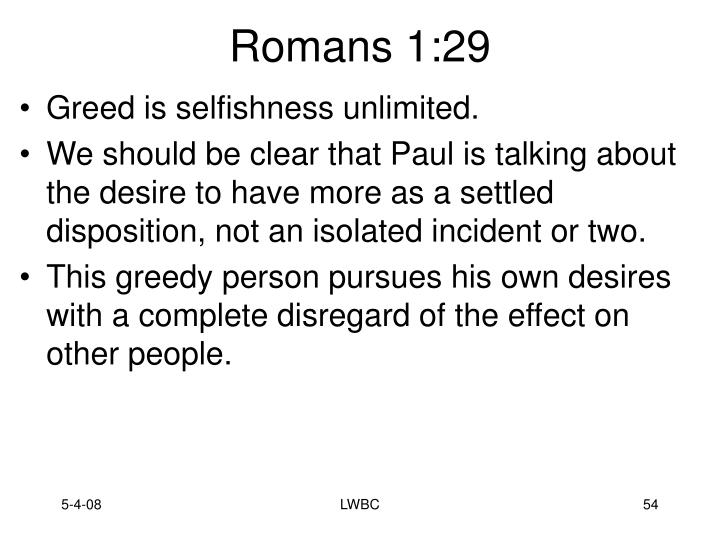 Romans 1:29