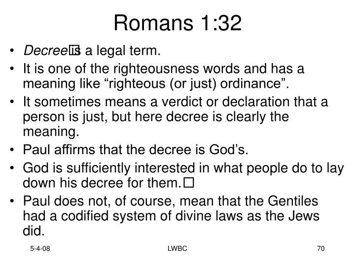 Romans 1:32