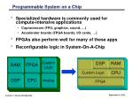 programmable system on a chip