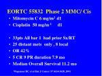 eortc 55832 phase 2 mmc cis