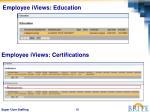 employee iviews education