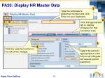 pa20 display hr master data1