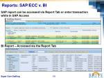reports sap ecc v bi