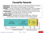 causality hazards