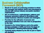 business collaboration framework bcf
