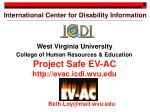 international center for disability information1