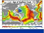 age of seafloor crust