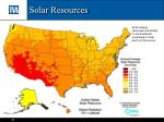 solar resources