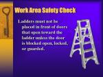 work area safety check1