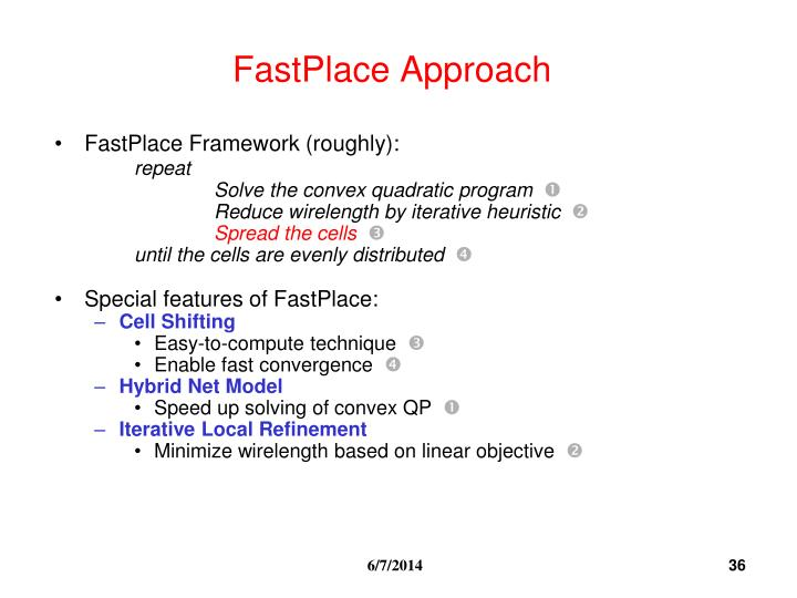 FastPlace Approach