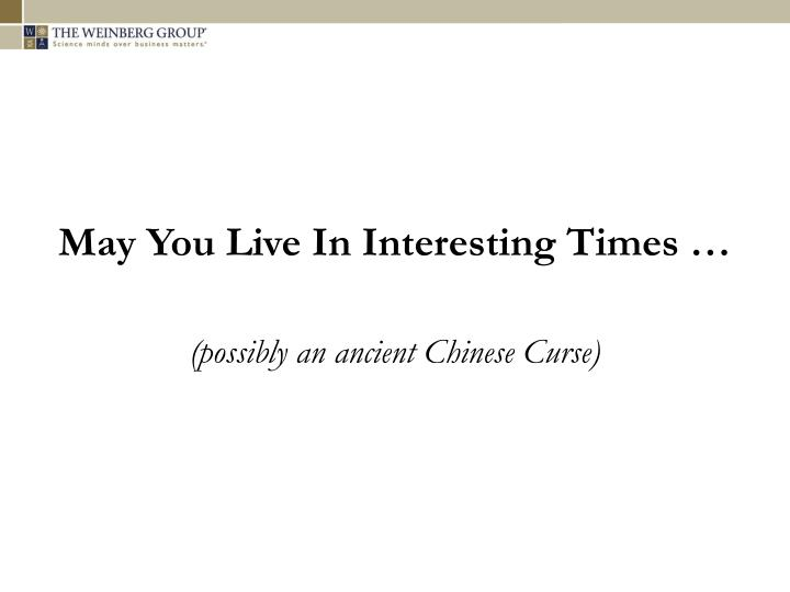 Ancient Chinese Curse