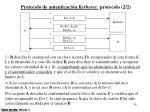protocolo de autenticaci n kerberos protocolo 2 2