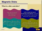 magnetic disks10