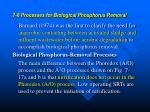 7 6 processes for biological phosphorus removal