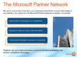 the microsoft partner network