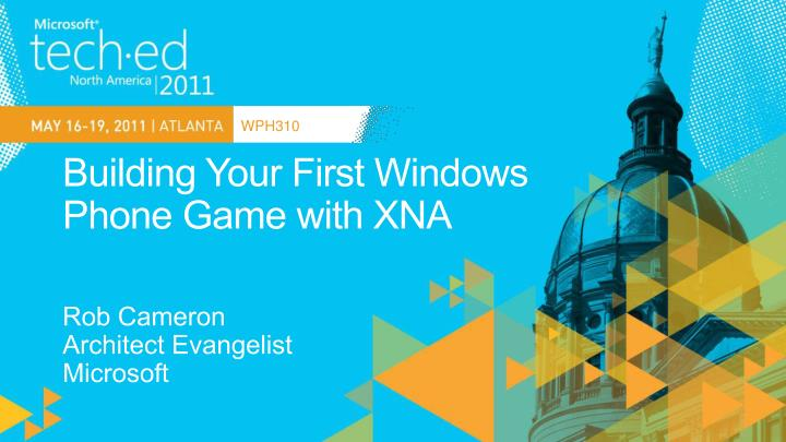 building your first windows phone game with xna n.