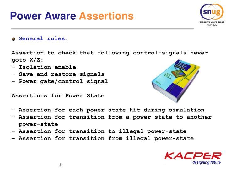 Power Aware