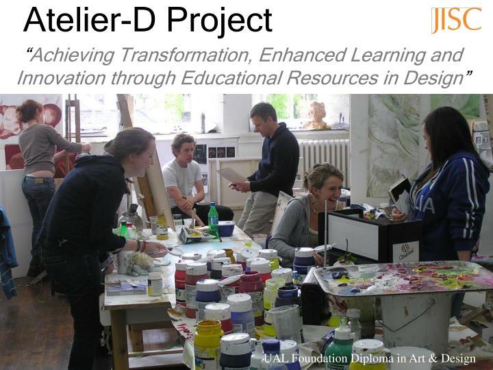 Atelier d project