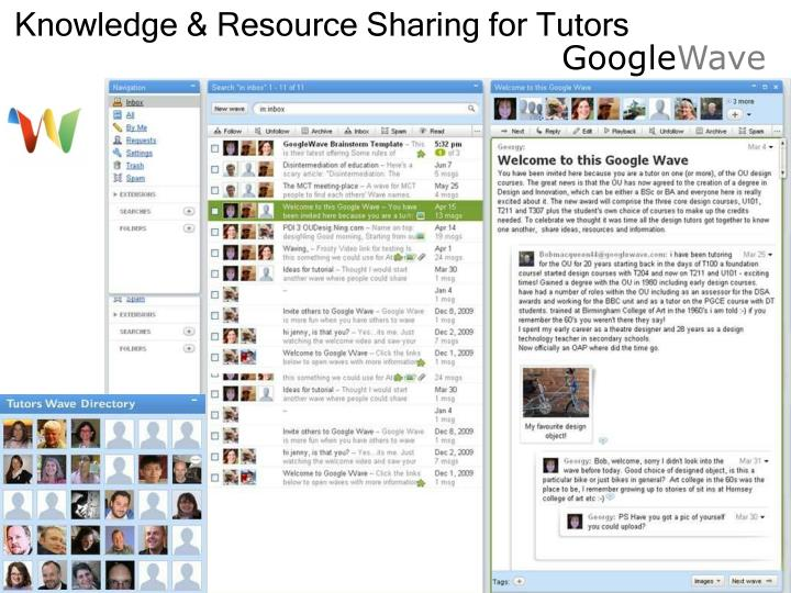 Knowledge & Resource Sharing for Tutors