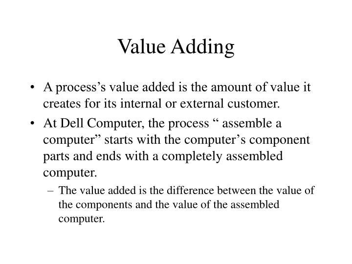 Value Adding