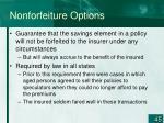 nonforfeiture options