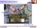 nand flash testing platform