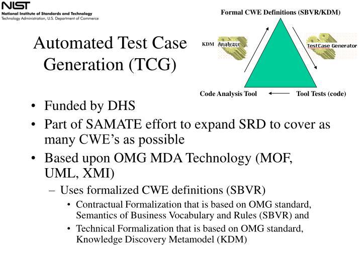 Formal CWE Definitions (SBVR/KDM)