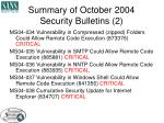 summary of october 2004 security bulletins 2