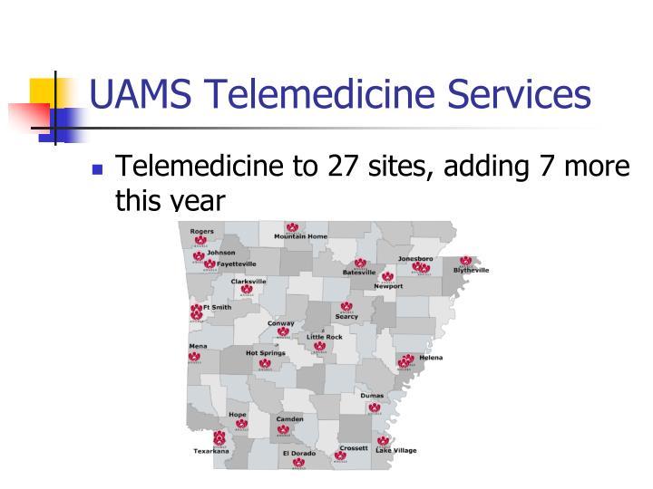 UAMS Telemedicine Services