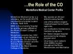 the role of the co1