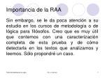 importancia de la raa2