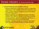 sample indicators 21stcenturyskills org2