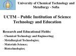 university of chemical technology and metallurgy sofia1