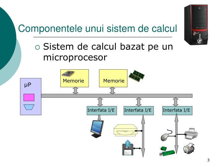 Componentele unui sistem de calcul1
