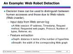 an example web robot detection1