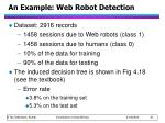 an example web robot detection4