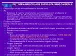 distrofia muscolare facio scapolo omerale1