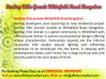 sterling villa grande whitefield road bangalore3