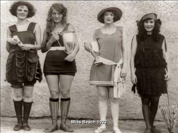 Miss Beach 1922