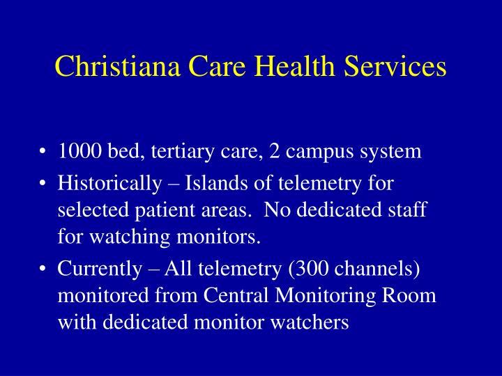 Christiana care health services